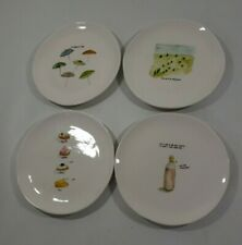 Brand New Set Of 4 Rae Dunn Cake Plates By Magenta large letters