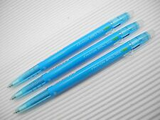3pcs PILOT FRIXION/ERASER ball slim 0.38mm roller ball pen Light Blue(Japan)