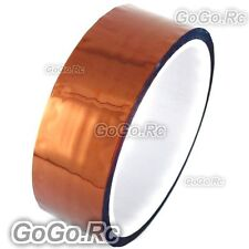 30mm x 10M Double Adhesive Side Kapton Tape High Temperature Resistant Polyimide