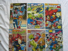 SPIDERMAN 18,19,20,21,22,23 : REVENGE of the SINISTER SIX, complete 6 part story