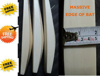 BIG  EDGE  43mm   ON EARTH   CUSTOM MADE English Willow  Cricket Bat