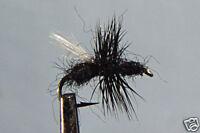 1 x Mouche Sèche Fourmi Noire H12/14/16/18 truite fliegen trout ant black fly