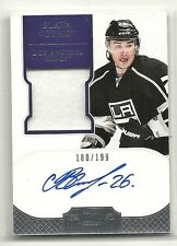 2011-12 DOMINION RC AUTO PATCH JERSEY VIATCHESLAV SLAVA VOYNOV /199 KINGS RUSSIA