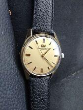 IWC SCHAFFHAUSEN 18K 750 er gold HANDAUFZUG anno 1959 vintage
