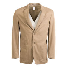 BRUNO SAINT HILAIRE Jacket Brown Cotton Blend Size 48 / UK 38R RRP £275 BW 444