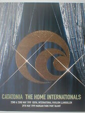 More details for catatonia the home internationals 1999 event programme 20 pages incl ian brown