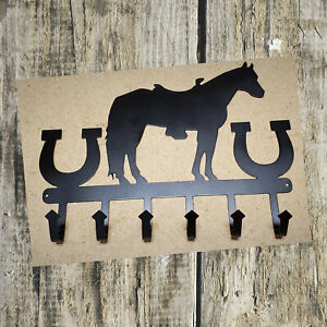 Horse Key Holder for Wall - Key Rack Great Gift for the Equestrian - Horse Decor