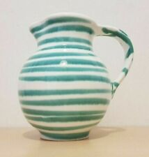 Gmundner Keramik grün geflammt Vase Landhaus mit Henkel GK393 (1911DE4#) 05/2020