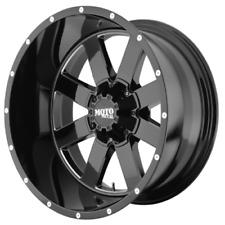 "20"" x12 Moto Metal 962 MO962B Black 8x6.5 -44 ET MO96221280344N 1 Rim"