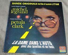 LA DAME DANS L'AUTO AVEC DES LUNETTES ET UN FUSIL (Michel Legrand) rare lp 1970