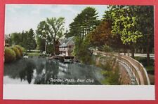 Boat Club, Taunton, MA Early UDB Postcard (#5131)