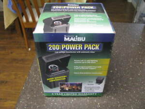 NEW SEALED Malibu ML200RT 200 Watt 12V AC Low Voltage Power Pack Transformer
