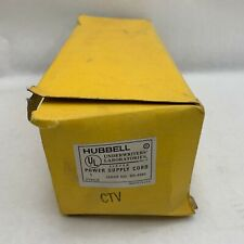 Hubbell BR-4593 HBL24312 NIB Power Supply Cord 20A 125V Explosion Proof #A54