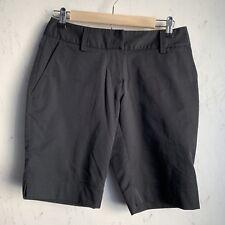 Adidas ClimaLite Womens Performance Golf Shorts Size 2 Black Athletic