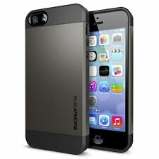 Spigen sgp case slim armor s pour iphone 5S/5 gunmetal