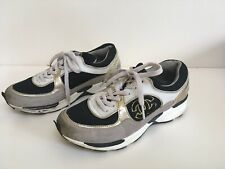 Chanel Trainers Ladies Black / Gold / White Mix -UK Size 3