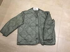 m65 jacket liner, new old stock, 2004,foliage color, medium /xs length