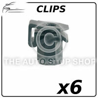 Clips Plastic Nut For Tapping Screws 6 MM Renault Clio III/Laguna III 11446 6PK