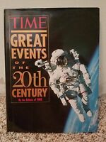 TIME GREAT EVENTS OF THE 20TH CENTURY LARGE BOOK ~ 1997 Time Books -WWII TITANIC