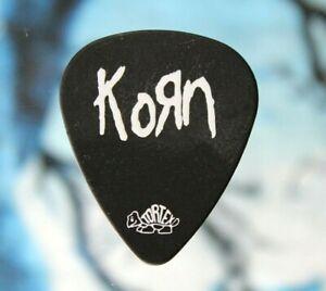 KoRn // Munky Concert Tour Guitar Pick // Black/White Dunlop Tortex
