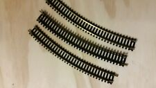 AHM HO scale curved 30 degree track (3 pieces)