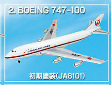 1/500 F-toys Japan Airlines JAL WING COLLECTION 3 no.2 B747-100