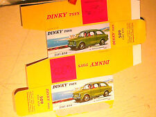 REPLIQUE BOITE FIAT 850 :   DINKY TOYS 1966