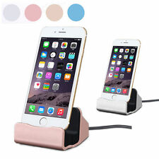 Desktop Stand Charger Dock Cradle Cable Charging Sync Dock For iPhone/Android