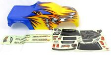 Redcat Racing 08701 Blue Yellow Avalanche Earthquake XP  body  08701