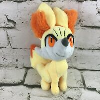 Pokemon Fennekin Plush Stuffed Animal Soft Gamer Toy By Tomy