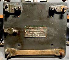 Ca 1890 Belknap Motor Co. Portland, Maine Standard Dynamo Slate Control Plate Nr