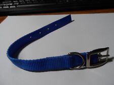 Dog Collar Blue 18-24cm nylon