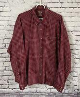 Mountain Hardwear Long Sleeve Flannel Shirt Checks Plaid Men's XL