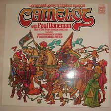 PAUL DANEMAN / PAT MICHAEL / PETER REGAN - Camelot (Vinyl Album)