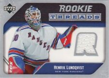 05-06 Upper Deck ROOKIE THREADS Game-Worn JERSEY Henrik LUNDQVIST - Rangers