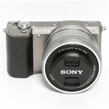 Sony Alpha A5100 24.3MP Mirrorless Digital Camera with 16-50mm Lens -DHL Express