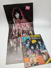 KISS - 16 Magazine Teen Sept 1980 Cheap Trick Pullout Paul Stanley Poster