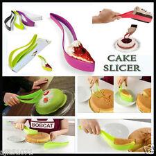 NEW CAKE PIE SLICER SHEET GUIDE CUTTER SERVER BREAD SLICE KNIFE KITCHEN
