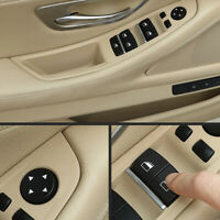4 x Maniglia interna bracciolo portiera Pannello Trim BMW Serie 5 F10 F11 Rosso