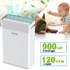 H13 True Hepa Air Purifiers for Home Large Room Air Cleaner for Allergies Smoke