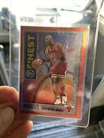 MICHAEL JORDAN 1996 TOPPS FINEST M1 CHICAGO BULLS RARE CARD