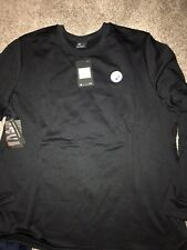 Pittsburgh Steelers Black Nike Modern Crew Coach Pullover Sweatshirt XXL
