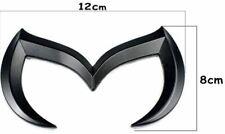 Quality New Metal 3D M Batman Cool Emblem Logo - BLACK