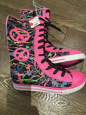 Nwot TCP Children Place Funky High Shoes Size 8 Youth Party Halloween Trendy