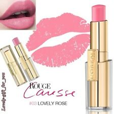 NEW L'Oreal Rouge Caresse Lipstick 8 Variations 01 03 04 07 101 103 203 401 501