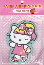 Sanrio Hello Kitty Paper Car Air Freshener : Apple Scented #16