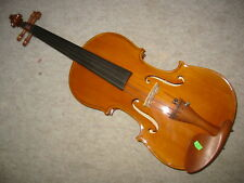 Beautiful old Stradiuarius Violin 3/4 (?) violon Deeply flamed