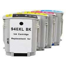 4PK 940 XL Ink Cartridge For HP 940XL Officejet Pro 8000 8500 8500A Printer