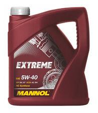 Mannol Extreme 5W-40 Motoröl Kanne, 5 Liter