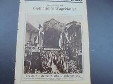 1931 ...Bildbeilage 15   / Geroldseck Kufstein / Rüttarena Berlin  Rinteln